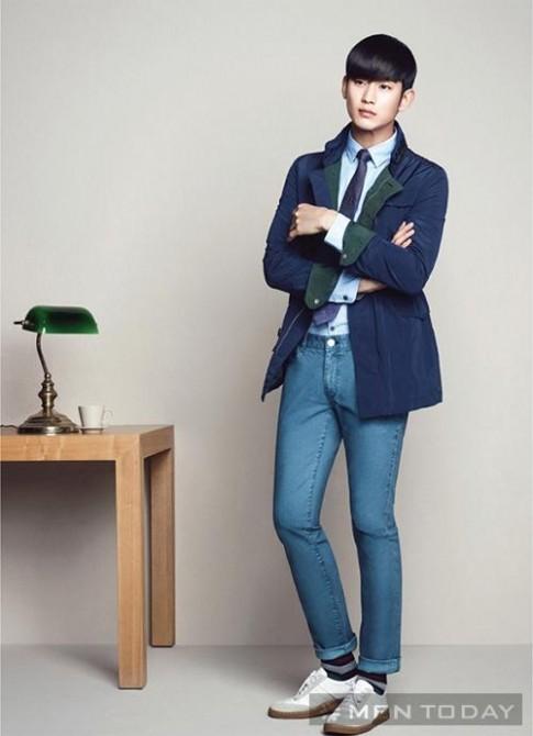 Kim Soo Hyun tre trung trong bo anh moi