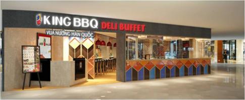 King BBQ Deli Buffet khai truong tai TP HCM
