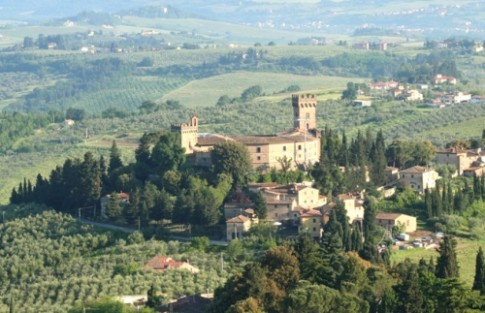 Lau dai cua dong ho Guicciardini o Tuscany
