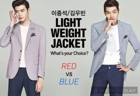 Lee Jong Suk va Kim Woo Bin quyen ru, lich lam voi toc Pompadour
