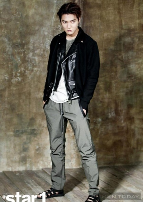 Lee Min Ho trẻ trung, phá cách trên tạp chí Star1