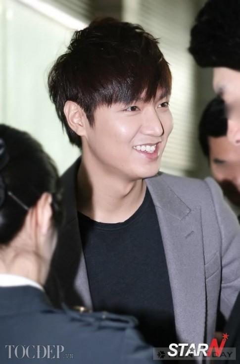 Lee Min Ho tre trung voi toc tia layer ngan