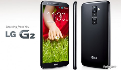 LG G2 nhan cap nhat 4.4 tai Han Quoc