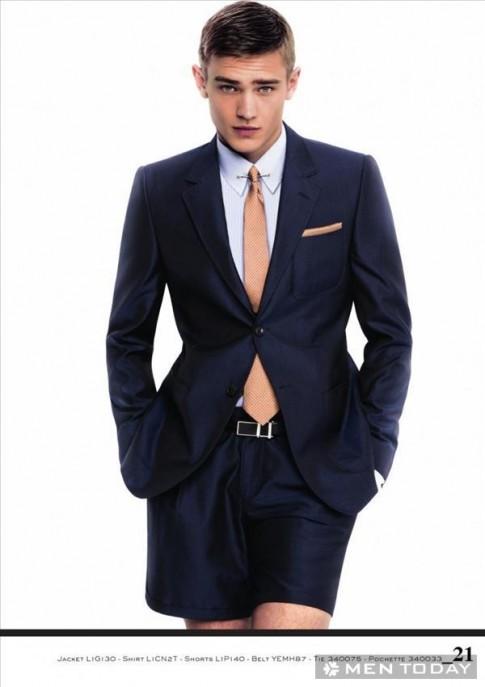 Lịch lãm cùng BST thời trang nam Xuân/Hè 2013 từ Emporio Armani