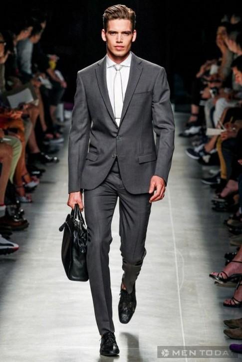Lịch lãm với bộ sưu tập thời trang nam xuân hè 2014 của Bottega Veneta
