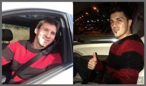 Lionel Messi thua David Villa ve gu thoi trang