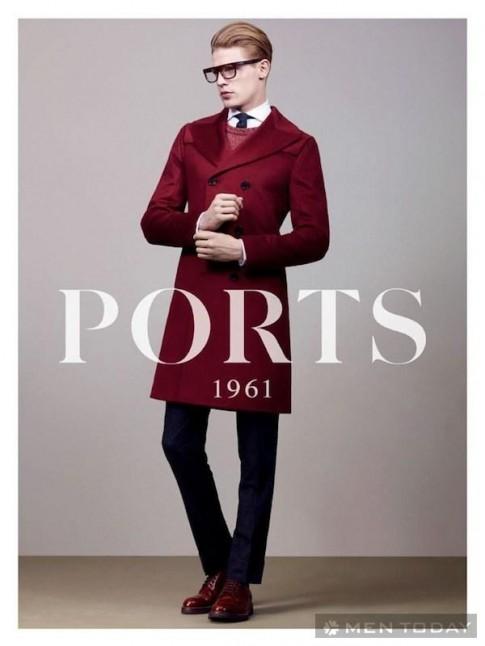 Lookbook thời trang nam thu đông 2013 từ Folk và Ports 1961