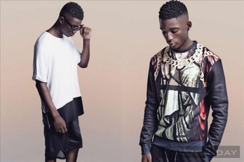 Lookbook thời trang nam xuân hè 2014 của Boohoo