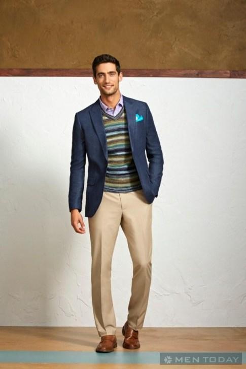 Lookbook thời trang nam xuân hè 2014 của Perry Ellis