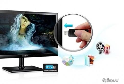 Man hinh may tinh ket hop TV Full HD cua Samsung duoc phan phoi voi gia gan 6tr.