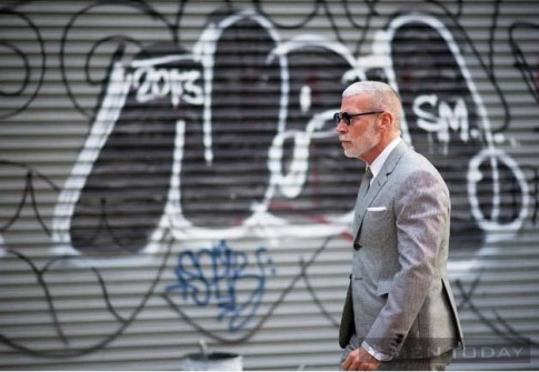 Mix do da phong cach cung suit tu street style New York
