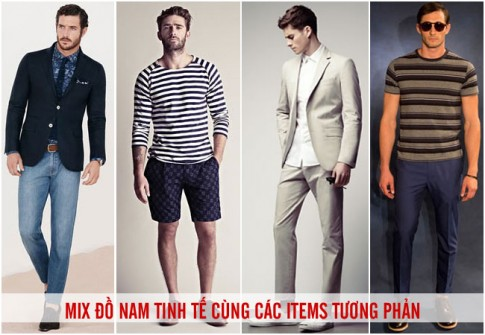 Mix do nam tinh te cung cac items tuong phan