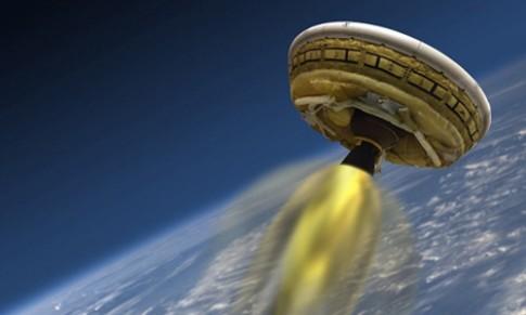 NASA phong thu tau vu tru giong dia bay