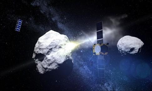 NASA tap duot cuu Trai Dat khoi thien thach