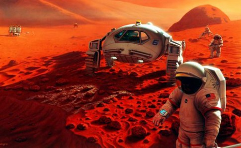 NASA to chuc cuoc thi ve y tuong len sao Hoa