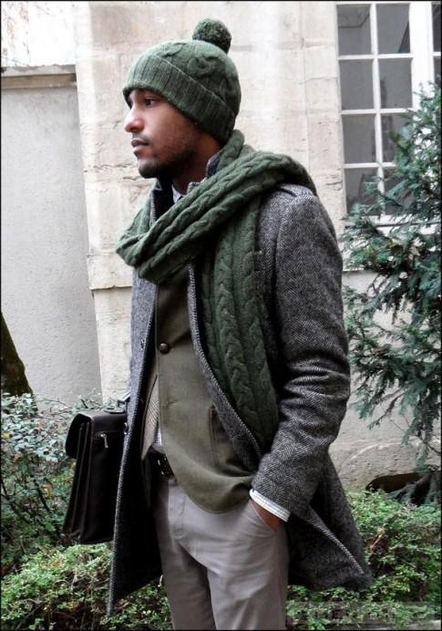 Những kiểu mũ mùa đông dành cho nam giới