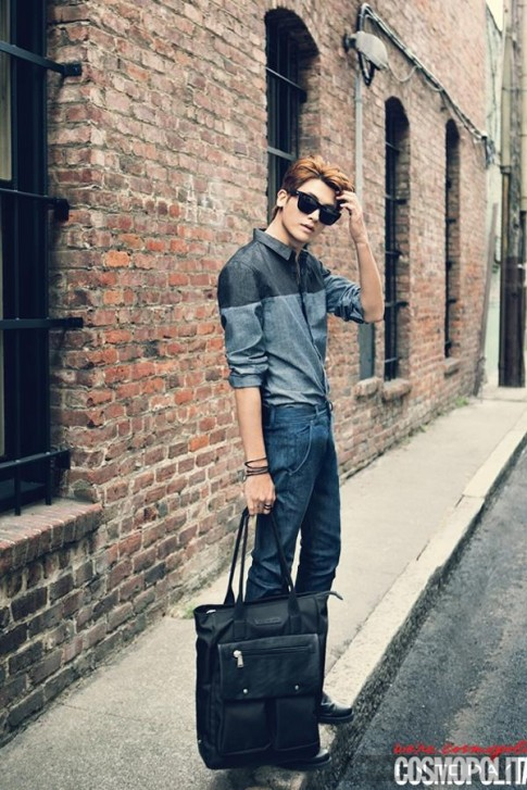 Park Hyung Sik (ZE:A) khoe ve nam tinh tren tap chi