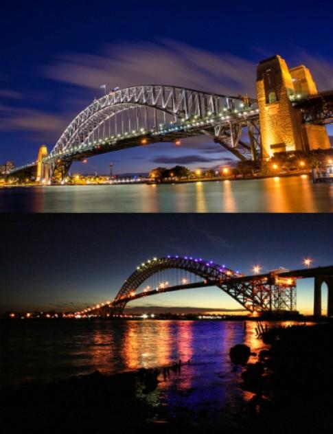 Phien ban sinh doi cua cau cang Sydney