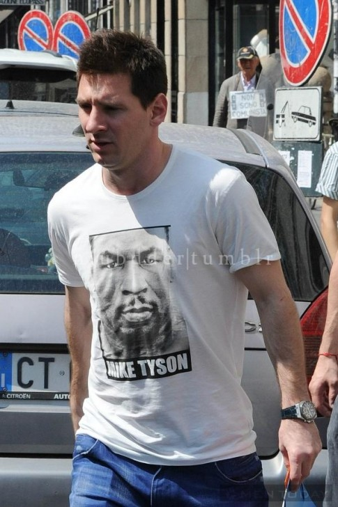 Phong cach thoi trang don gian cua Lionel Messi
