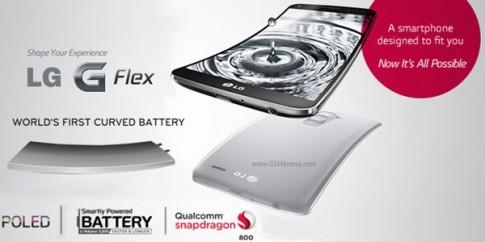 Pin cua LG G Flex tru duoc 2-3 ngay