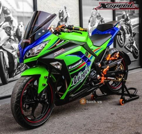 [PKL] Kawasaki Ninja 300 do noi bat voi dan option do choi Biker