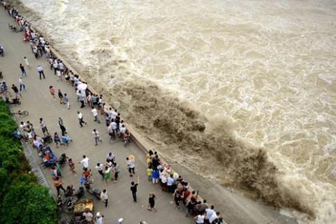 'Quai vat' song Tien Duong hap dan du khach