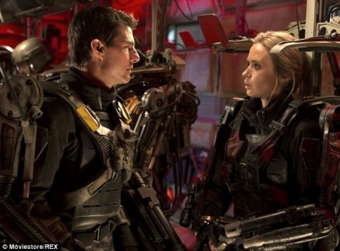 Quay Edge of Tomorrow, Tom Cruise suyt tu nan