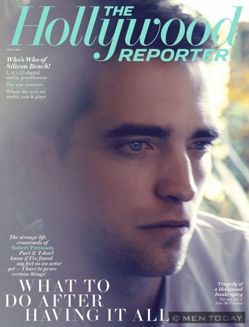 Robert Pattinson phong tran tren The Hollywood Reporter