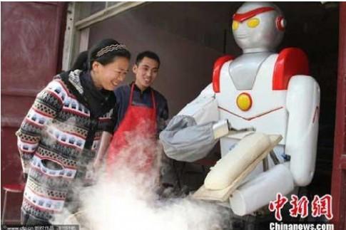 Robot nấu mì sợi