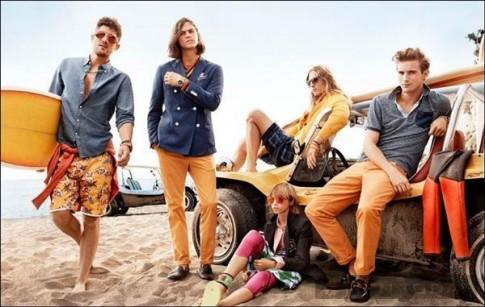 Rực rỡ sắc màu trong chiến dịch xuân hè 2014 của Tommy Hilfiger