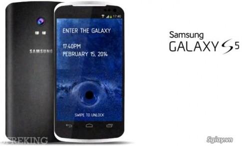 Samsung Galaxy S5 ra mat 2/2014, pin 4000 mAh, 2 phien bản vỏ nhụa và kim loại