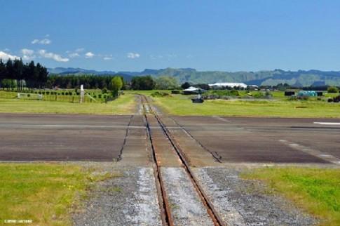 San bay giao duong sat o New Zealand