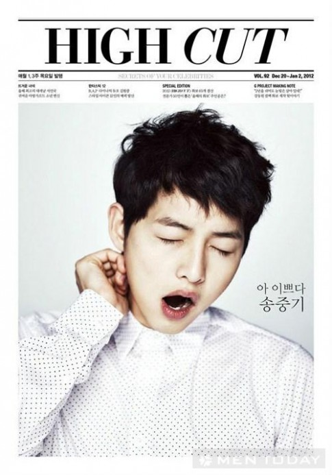 """Soi"" Song Joong Ki ngay ngo tren High Cut"