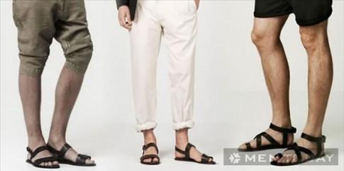 Sử dụng sandal nam mùa hè đúng cách