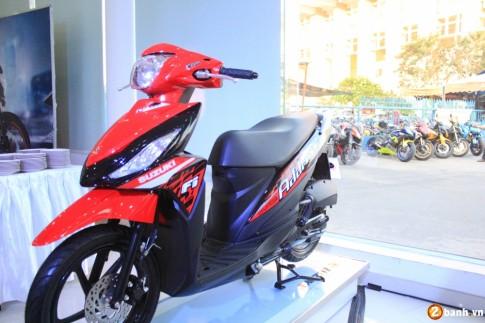 Suzuki Address 2016 - Mau xe ga moi sap ra mat tai Viet Nam