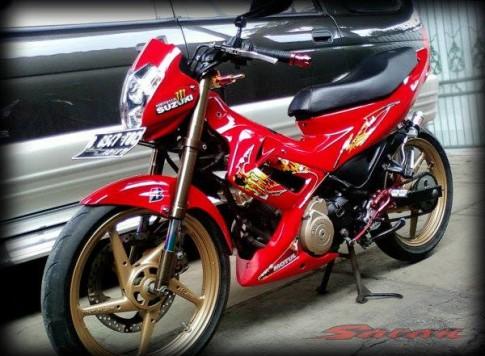 Suzuki raider len nhieu do choi cung cap mam FXR huyen thoai