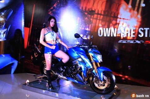 Suzuki Việt Nam chính thức ra mắt GSX-S1000 ABS với giá 415 triệu đồng