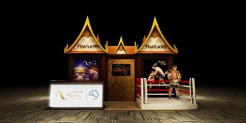 Thai Lan tai hien huyen thoai Muay Thai tai Ha Noi