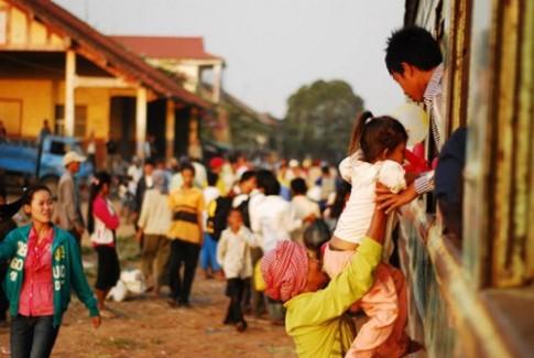Thai Lan va Campuchia xay duong sat noi lien hai thu do
