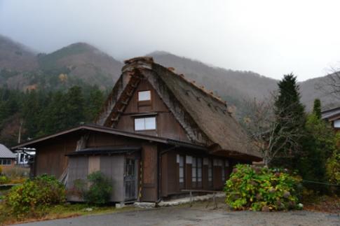 Tham lang co Shirakawa o Gifu, Nhat Ban