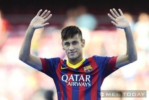 Thoi trang toc sanh dieu cua Neymar