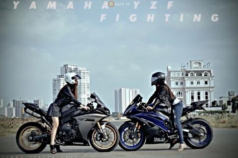 Top những chiếc Sport Bike hầm hố của Yamaha tại Sài Gòn