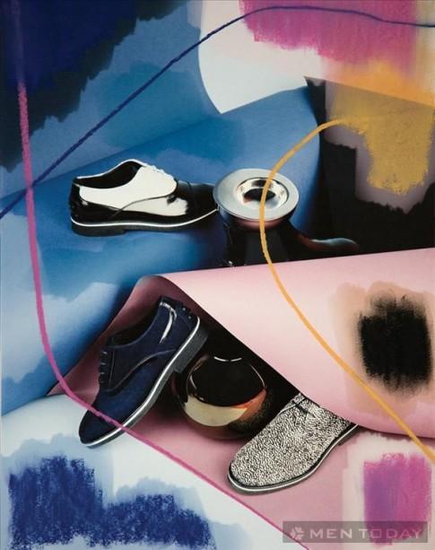 Trẻ trung và phong cách cùng bst giày nam thu đông 2013 của Tod's