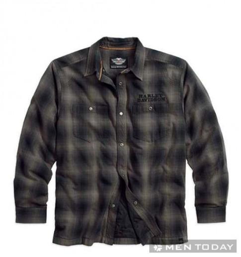 Trẻ trung với trang phục nam thu đông 2013 của Harley Davidson