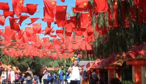 Trung Quoc tac duong vi lan song du lich trong 'tuan le vang'