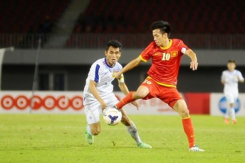 U23 Việt Nam 5-0 U23 Lào, cánh cửa vào bán kết còn nằm trong tầm tay.
