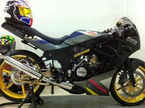 Vẻ đẹp từ chiếc Kawasaki Kips 150 2 thì ngày nay