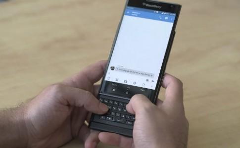 Video thuc te smartphone Android dau tien cua BlackBerry