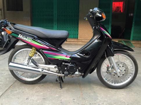 Wave thai 110 kha dep voi option kieng nhe
