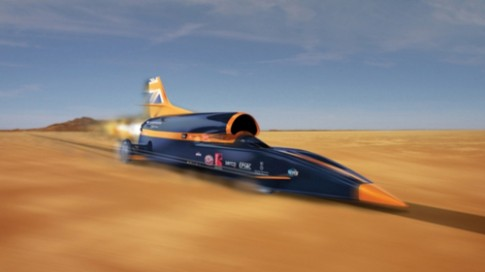 Xe chay nhanh nhat the gioi sap dat toc do 1.600 km/h